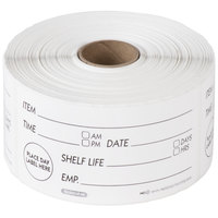 National Checking Company RSL24R 2 inch x 4 inch Ultra Removable Label   - 500/Roll