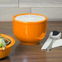Homer Laughlin 098325 Fiesta Tangerine 18 oz. Jumbo Bowl - 12/Case