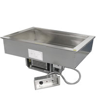 Delfield N8669 Five Pan Drop In Cold / Hot Food Well