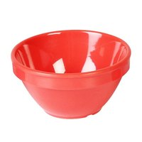 Smooth Melamine Orange Bouillon Cup - 4 1/4 inch 12 / Pack