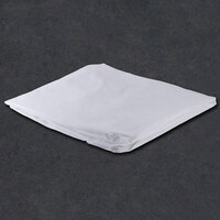 Fitted Hotel Sheet - 200 Thread Count Cotton / Poly - White Twin 39 inch x 80 inch x 12 inch - 12 / Case