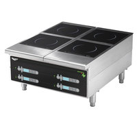Vollrath 924HIDC Cayenne Heavy Duty Dual Induction Hot Plate with Digital Controls - 208/240V, 5800W
