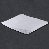 Fitted Hotel Sheet - 300 Thread Count Cotton / Poly - White Twin 39 inch x 80 inch x 12 inch - 12 / Case