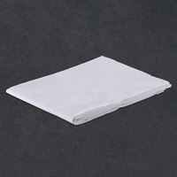 Hotel Pillowcase - 300 Thread Count Cotton / Poly - White Queen 20 inch x 37 inch