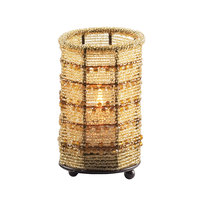 Sterno Products 80104 5 inch Gold Beaded Candle Liquid Candle Holder