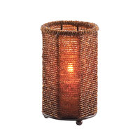 Sterno Products 80102 5 inch Dark Amber Beaded Candle Liquid Candle Holder
