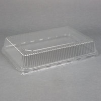 1/4 Sheet Clear Dome Lid for Quarter Size Sheet Pan - 100/Case