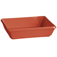 Tablecraft CW2090CP 3.5 Qt. Copper Cast Aluminum Rectangular Casserole Dish
