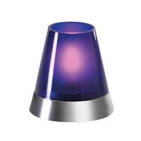 Sterno Products 85378 3 1/2 inch Dual Dazzle Petite Purple Votive Lamp Cylinder Globe