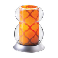 Sterno Products 85450 5 3/4 inch Amber Lamp Shade