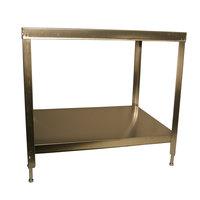 Berkel 4975-00418 Stainless Steel Bread Slicer Stand with Undershelf