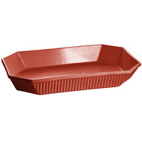 Tablecraft CW2010CP 4.5 Qt. Copper Cast Aluminum Octagon Casserole Dish