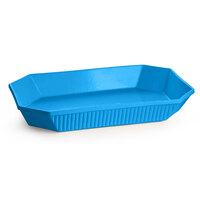 Tablecraft CW2010SBL 4.5 Qt. Sky Blue Cast Aluminum Octagon Casserole Dish