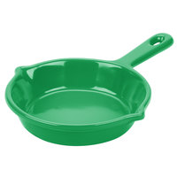 Tablecraft CW1980GN 6 1/8 inch Green Cast Aluminum Fry Pan