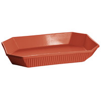 Tablecraft CW2020CP 13 Qt. Copper Cast Aluminum Octagon Casserole Dish