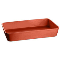 Tablecraft CW20200CP 15 Qt. Copper Cast Aluminum Extra Large Rectangular Casserole Dish