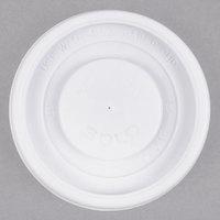Dart Solo VL34R-0007 4 oz. White Plastic Vented Lid - 1000/Case