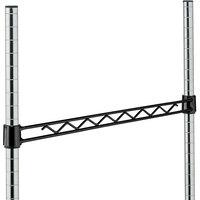 Metro H118B Black Hanger Rail 18 inch