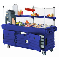 Cambro 47279 Top Panel Sneeze Guard for all CamKiosk Carts