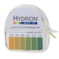 Hydrion S/R pH Test Paper Dispenser - Level 3-5.5