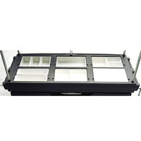 Cambro 7368 Replacement 6-Well Top with Covers for CamKiosks