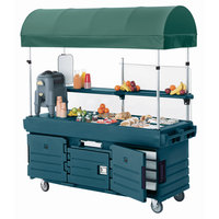 Cambro 60208 Green Replacement Canopy for CamKiosk Carts