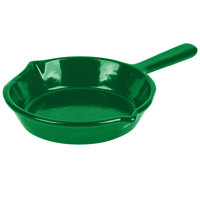 Tablecraft CW1970GN 7 inch Green Cast Aluminum Fry Pan