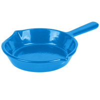 Tablecraft CW1970SBL 7 inch Sky Blue Cast Aluminum Fry Pan