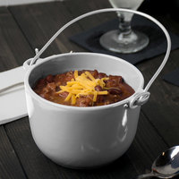 Tablecraft CW3380N Natural Cast Aluminum 1 Qt. Soup Pail