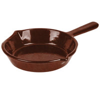 Tablecraft CW1970MAS 7 inch Maroon Speckle Cast Aluminum Fry Pan
