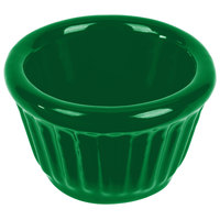 Tablecraft CW1640GN 1.2 oz. Green Cast Aluminum Ramekin