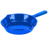 Tablecraft CW1970BS 7 inch Blue Speckle Cast Aluminum Fry Pan