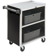 Vollrath 97181 3 Shelf Bussing Cart - 31 inch x 18 inch x 34 inch