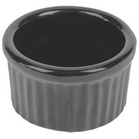 Tablecraft CW1655N 6 oz. Natural Cast Aluminum Ramekin