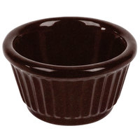 Tablecraft CW1650MIS 3 oz. Midnight Speckle Cast Aluminum Ramekin