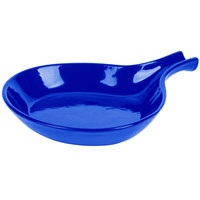 Tablecraft CW1960CBL 8 3/8 inch Cobalt Blue Cast Aluminum Open Handle Skillet