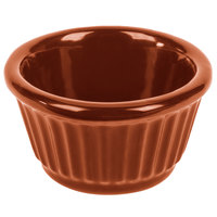Tablecraft CW1650CP 3 oz. Copper Cast Aluminum Ramekin