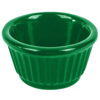 Tablecraft CW1650GN 3 oz. Green Cast Aluminum Ramekin