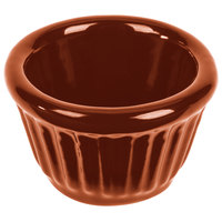 Tablecraft CW1640CP 1.2 oz. Copper Cast Aluminum Ramekin