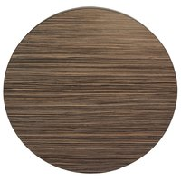 BFM Seating SF45R Midtown 45 inch Round Indoor Tabletop - Safari