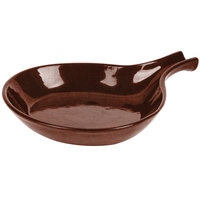 Tablecraft CW1960MRS 8 3/8 inch Maroon Speckle Cast Aluminum Open Handle Skillet