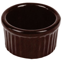 Tablecraft CW1655MIS 6 oz. Midnight Speckle Cast Aluminum Ramekin
