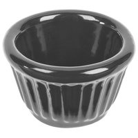 Tablecraft CW1640N 1.2 oz. Natural Cast Aluminum Ramekin