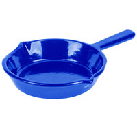 Tablecraft CW1970BL 7 inch Cobalt Blue Cast Aluminum Fry Pan