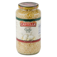 Castella 32 oz. Chopped Garlic in Oil - 12/Case