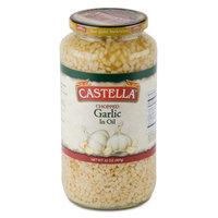 Castella 32 oz. Chopped Garlic in Oil - 12/Case