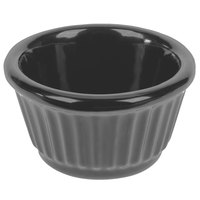 Tablecraft CW1650N 3 oz. Natural Cast Aluminum Ramekin