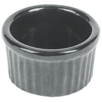 Tablecraft CW1655GR 6 oz. Granite Cast Aluminum Ramekin