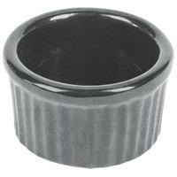 Tablecraft CW1655GR 6 oz. Granite Cast Aluminum Ramekin