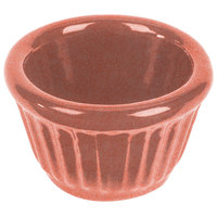 Tablecraft CW1640GG 1.2 oz. Ginger Cast Aluminum Ramekin